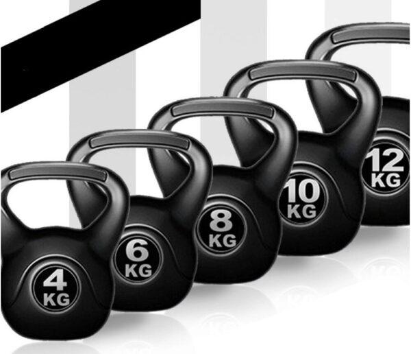 KETTLEBELL 2KG - 14KG para treinar em casa