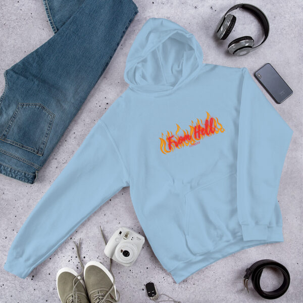 Vintage Hoodies Unissex From Hell Fitness