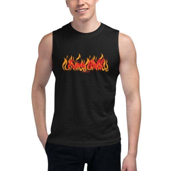 T-shirt Alças Homem From Hell Fitness